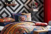 Фото 2 Покрывало на кровать: произведение искусства в вашей спальне (80 фото)
