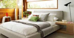 Прикроватные тумбочки: 60 идей подчеркиващих шарм вашей спальни фото