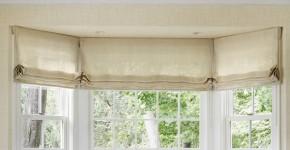 Римские шторы в интерьере: 115 лучших идей из античности для современного дома (фото) фото