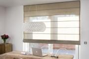 Фото 14 Римские шторы в интерьере: 115 лучших идей из античности для современного дома (фото)