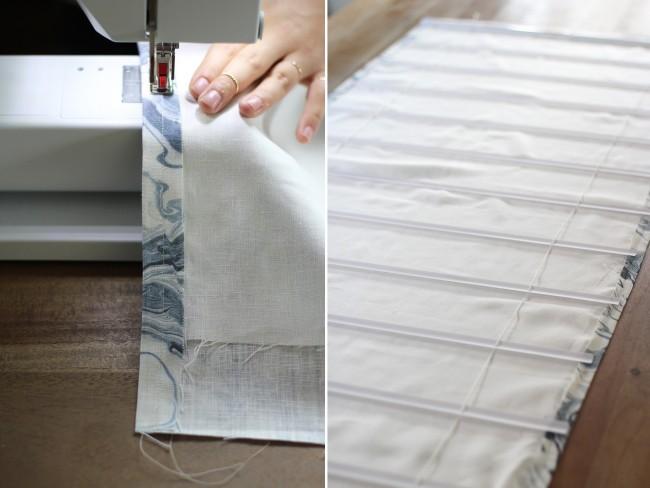 Римские шторы шьются из тканей разного состава, прозрачных или плотных, обладающих различной светопроницаемостью, а также тканей с любым рисунком