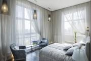 Фото 27 Тюль для зала и спальни: традиционное убранство окон и современные идеи дизайна, 50+ впечатляющих фото
