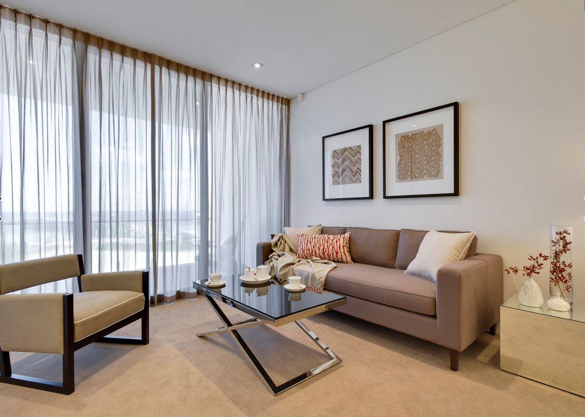 Дизайн окна в гостиной фото 2018 современные идеи