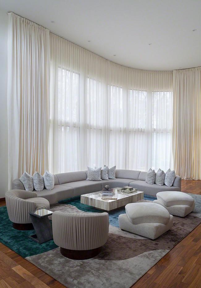 Гармония цветовой гаммы в декоре гостиной: кремовый цвет