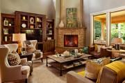 Фото 8 Угловые камины: 70 горячих идей для классических и современных гостиных (фото)