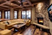 Фото 28 Угловые камины: 70 горячих идей для классических и современных гостиных (фото)