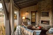 Фото 13 Угловые камины: 70 горячих идей для классических и современных гостиных (фото)