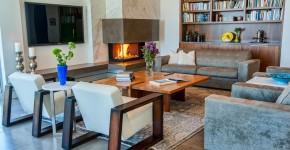 Угловые камины: 70 горячих идей для классических и современных гостиных (фото) фото