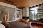 Фото 17 Угловые камины: 70 горячих идей для классических и современных гостиных (фото)