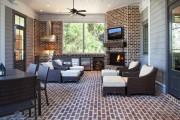 Фото 20 Угловые камины: 70 горячих идей для классических и современных гостиных (фото)