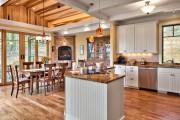 Фото 21 Угловые камины: 70 горячих идей для классических и современных гостиных (фото)