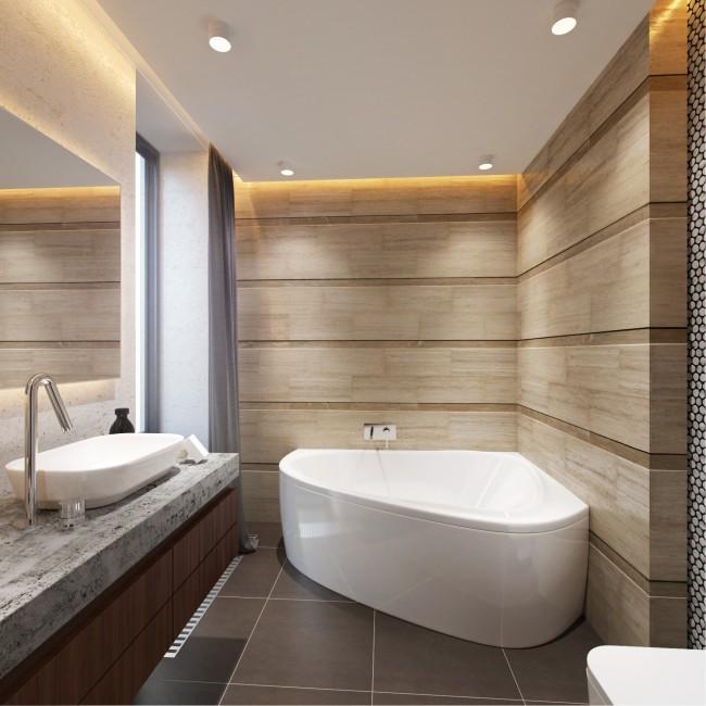 Ванна – это центральная часть интерьера любой ванной комнаты. Огромную роль играет и расположение коммуникаций. Поэтому, начиная продумывать дизайн своей ванной, мы берем ее за некую точку отсчета