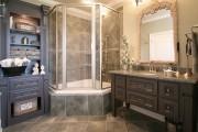 Фото 8 65 Идей угловых ванн в интерьере: всё о существующих видах, размерах и формах