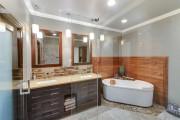 Фото 12 65 Идей угловых ванн в интерьере: всё о существующих видах, размерах и формах