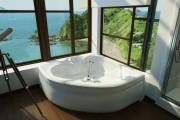 Фото 1 65 Идей угловых ванн в интерьере: всё о существующих видах, размерах и формах