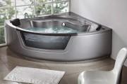 Фото 5 65 Идей угловых ванн в интерьере: всё о существующих видах, размерах и формах