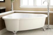 Фото 15 65 Идей угловых ванн в интерьере: всё о существующих видах, размерах и формах