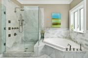 Фото 17 65 Идей угловых ванн в интерьере: всё о существующих видах, размерах и формах