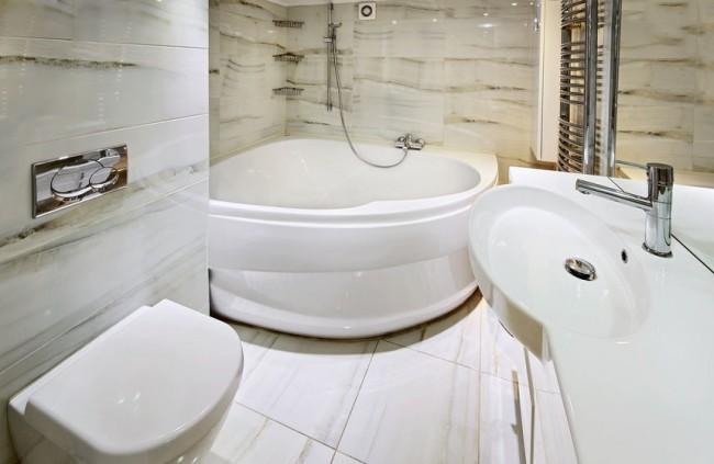 Акриловые ванны благодаря своим достоинствам наиболее распространены