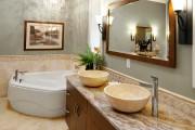 Фото 21 65 Идей угловых ванн в интерьере: всё о существующих видах, размерах и формах