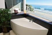Фото 23 65 Идей угловых ванн в интерьере: всё о существующих видах, размерах и формах