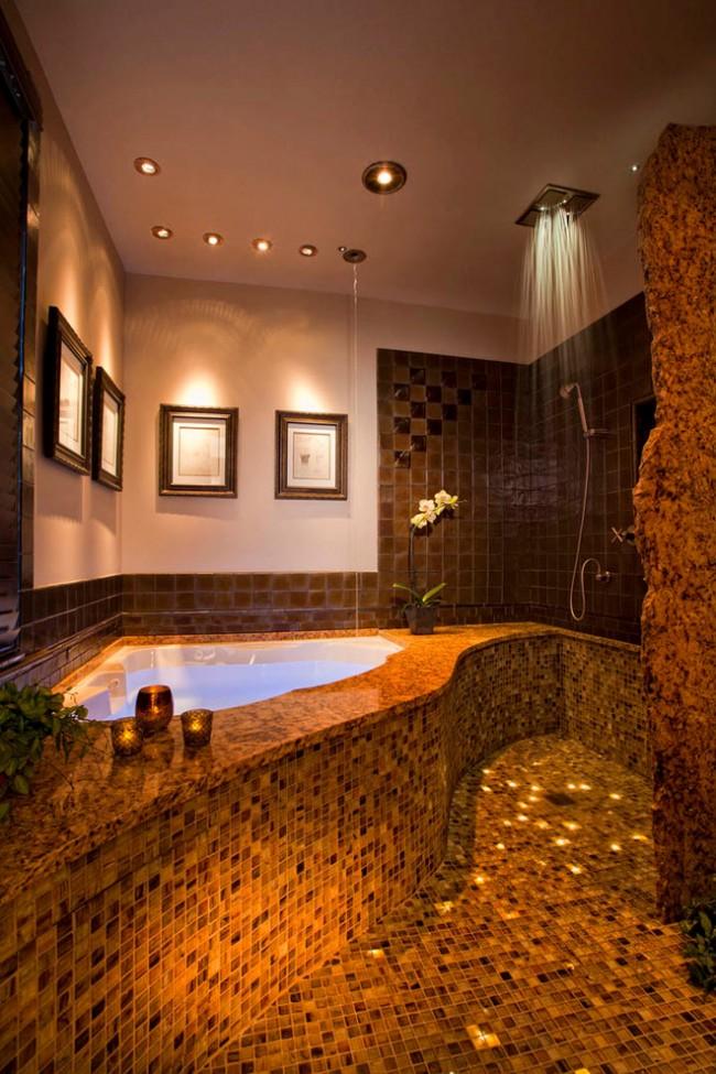 Угловые ванны хорошо вписываются в любой интерьер, легко устанавливаются и не создают проблем при эксплуатации