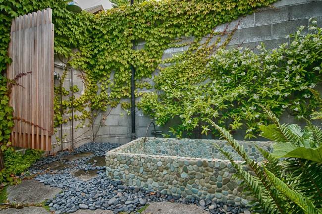 Озеленение двора с помощью разных видов вьющихся растений