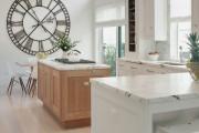 Фото 1 40+ Видов настенных часов на кухню: счастливые минуты и часы в уютном доме
