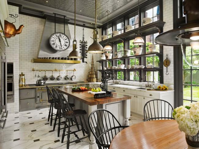 Кухонные часы должны располагаться на видном месте