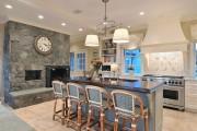 Фото 10 40+ Видов настенных часов на кухню: счастливые минуты и часы в уютном доме
