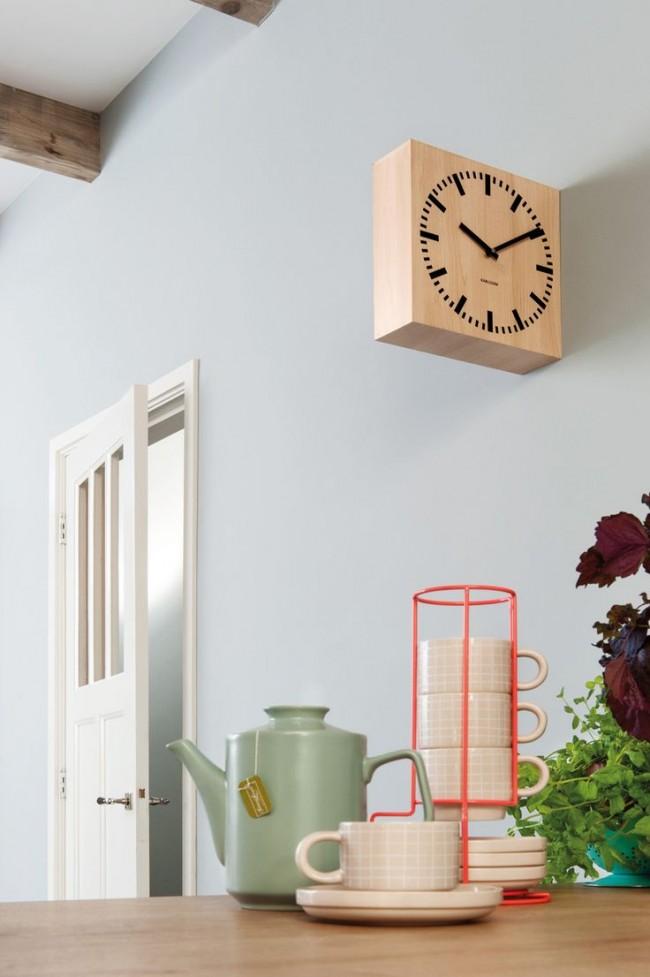 Кухонные часы в современном интерьере