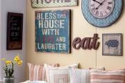 Фото 17 40+ Видов настенных часов на кухню: счастливые минуты и часы в уютном доме
