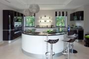 Фото 15 Черно-белая кухня: 40+ фото как оформить минималистичный интерьер