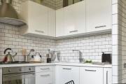 Фото 10 Черно-белая кухня: 40+ фото как оформить минималистичный интерьер