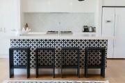 Фото 2 Черно-белая кухня: 40+ фото как оформить минималистичный интерьер