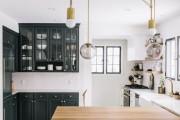 Фото 5 Черно-белая кухня: 40+ фото как оформить минималистичный интерьер