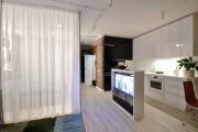 Фото 12 Черно-белая кухня: 40+ фото как оформить минималистичный интерьер