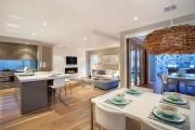 Фото 10 Дизайн гостиной совмещенной с кухней: полный обзор по всем стилям (фото)