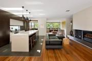 Фото 7 Дизайн гостиной совмещенной с кухней: полный обзор по всем стилям (фото)