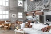 Фото 14 Дизайн гостиной совмещенной с кухней: полный обзор по всем стилям (фото)