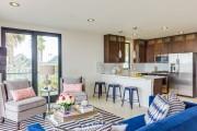 Фото 16 Дизайн гостиной совмещенной с кухней: полный обзор по всем стилям (фото)