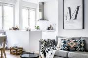 Фото 6 Дизайн гостиной совмещенной с кухней: полный обзор по всем стилям (фото)