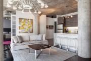 Фото 21 Дизайн гостиной совмещенной с кухней: полный обзор по всем стилям (фото)