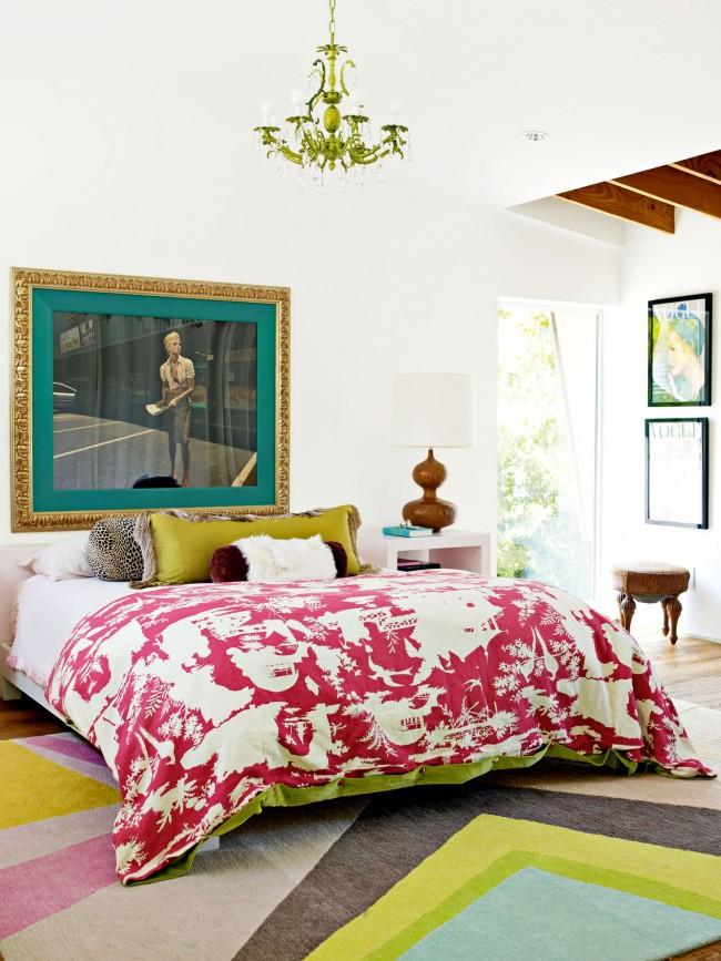 Эклектичный стиль в дизайне спальни