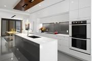 Фото 17 60+ Идей фартука для кухни из стекла: новое слово в отделке кухонных поверхностей (фото)