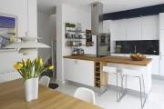 Фото 15 60+ Идей фартука для кухни из стекла: новое слово в отделке кухонных поверхностей (фото)