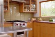 Фото 14 60+ Идей фартука для кухни из стекла: новое слово в отделке кухонных поверхностей (фото)