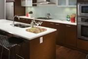 Фото 10 60+ Идей фартука для кухни из стекла: новое слово в отделке кухонных поверхностей (фото)