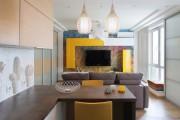 Фото 16 40+ Идей интерьера однокомнатной квартиры: как добиться комфортного минимализма