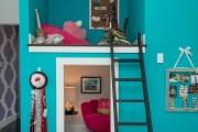Фото 8 Кровать-чердак с рабочей зоной для подростка: 50 фото оптимизированного пространства